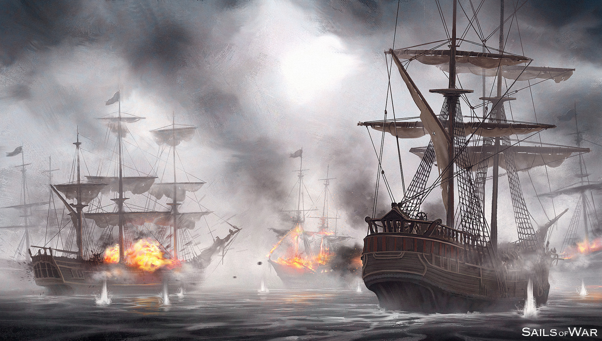 Sails Of War Concept Art Battle 2